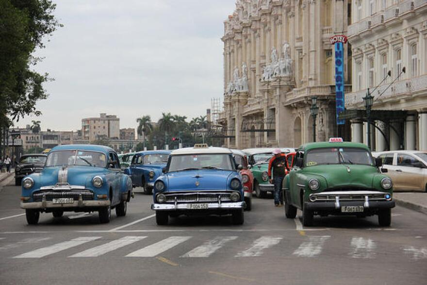 Cars in Havana, Cuba.