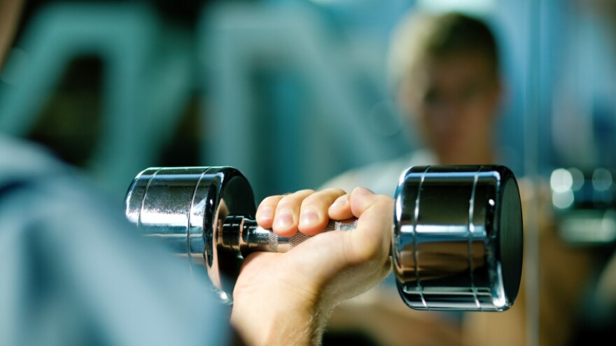 Try taking some weight off in your workout.
