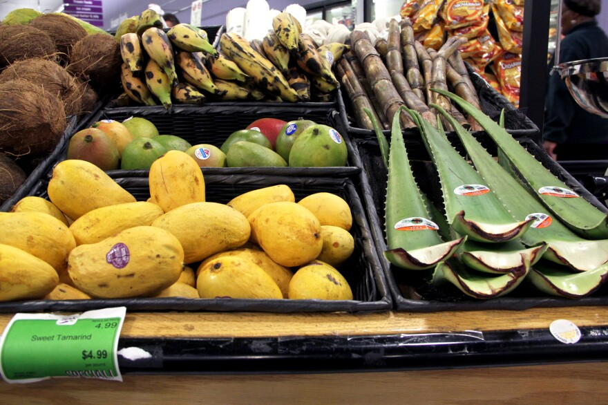 Fare & Square seeks to accommodate the diverse tastes of its customers, offering fresh aloe, sugar cane and tamarinds.