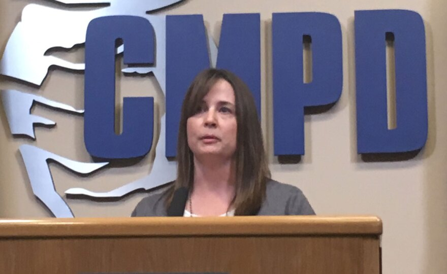 CMPD Lt. Melanie Peacock.