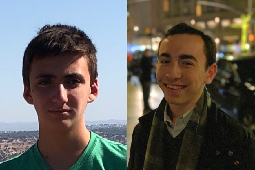 Ben Shapiro (left) and Josh Fried (Photo courtesy of guests)