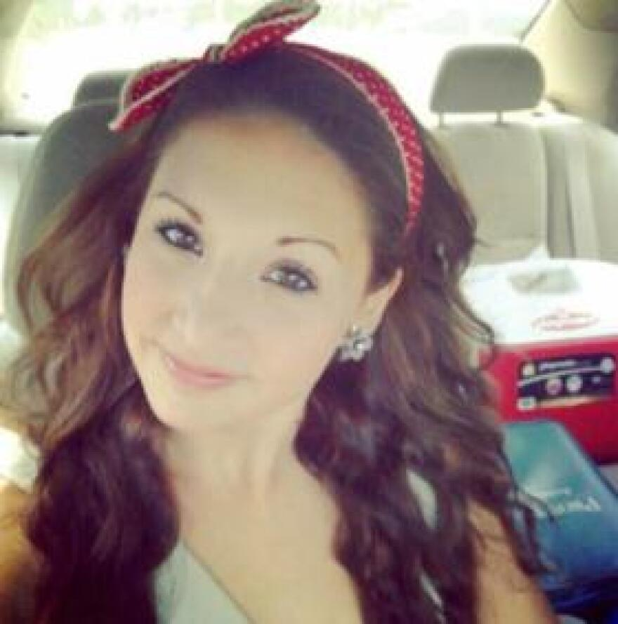 """Chloe Arenas, 21, died last year when she lost control of her car and it got submerged in a retention pond. """"Chloe's Law"""" is named after her."""