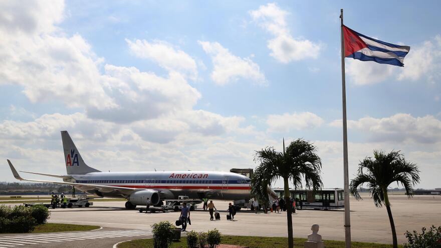 Flight to Cuba