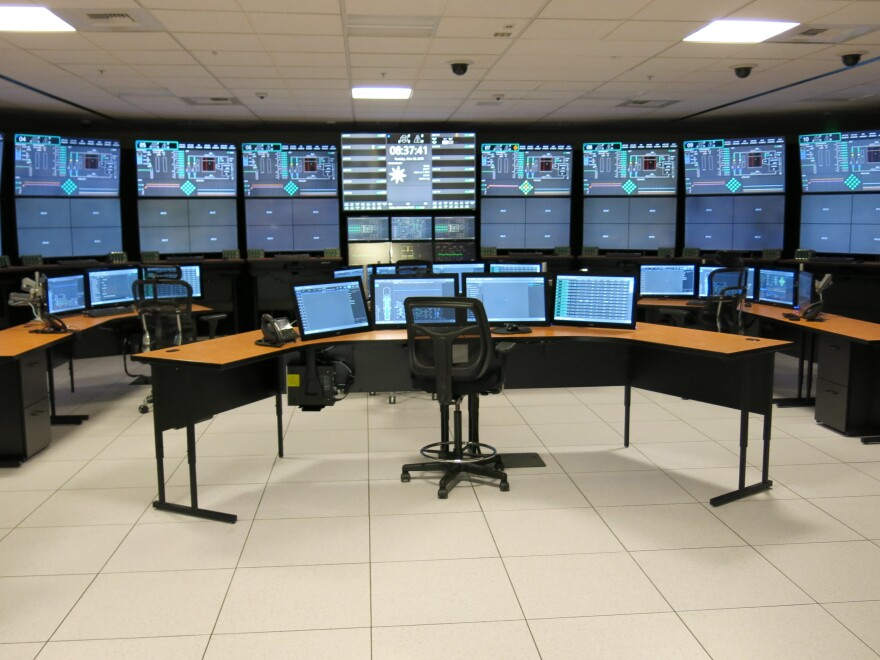 NuScale Power's simulator in Corvallis, Ore., was designed to show regulators that the company can operate 12 reactors from one control room.