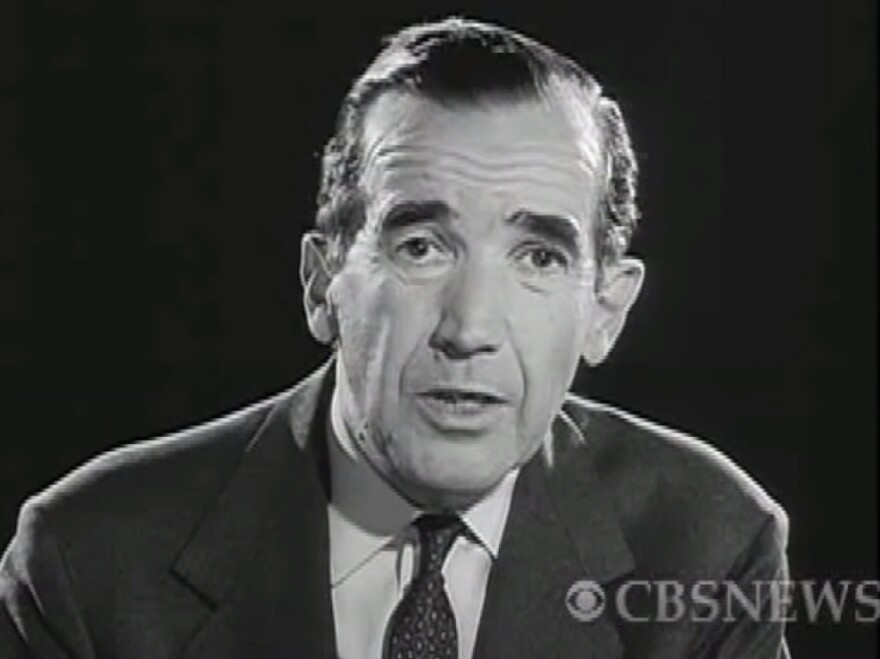 <em>Harvest of Shame</em> ends with Murrow looking squarely into the camera and delivering a call to action.