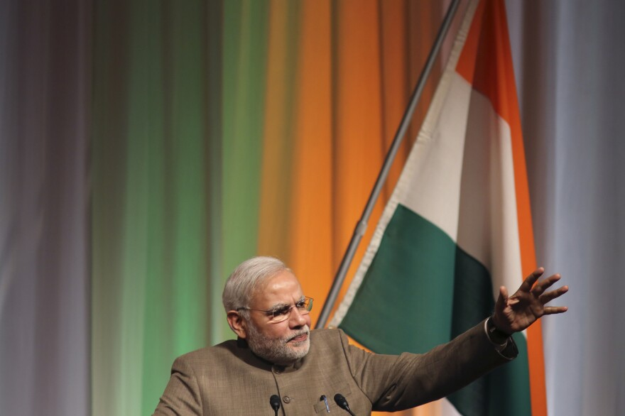 Indian Prime Minister Narendra Modi says al-Qaida will fail to attract recruits among India's Muslims, whom he praised as patriots.