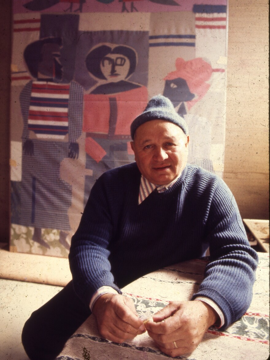 Romare Bearden in New York, 1972.