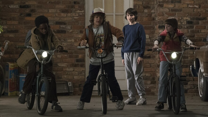 Schwinners and Losers: The cast of Netflix's <em>Stranger Things.</em>