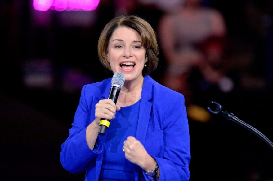 Sen. Amy Klobuchar, D-MN,  endorsed former vice president Joe Biden and withdrew from the presidential race just over a month ago.