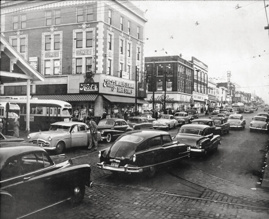 The Wellston Loop in the early 1950s