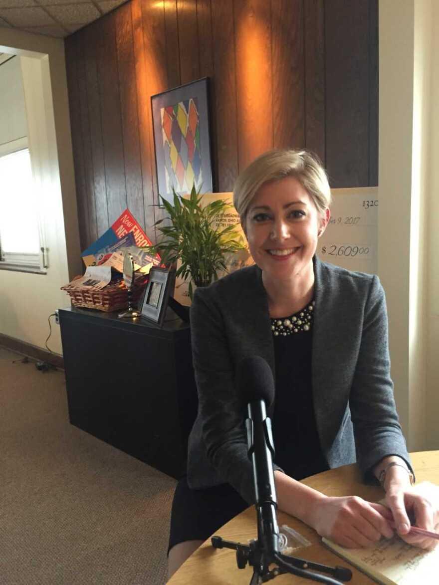 photo of Board of Education member Morgan Lasher