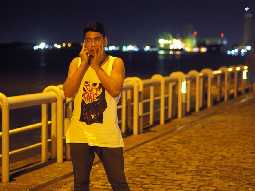 Ítalo Laredo, a gay rights activist from Brazil's city of Belém, is among those who feel the rise of Brazil's far right is a threat to their safety.