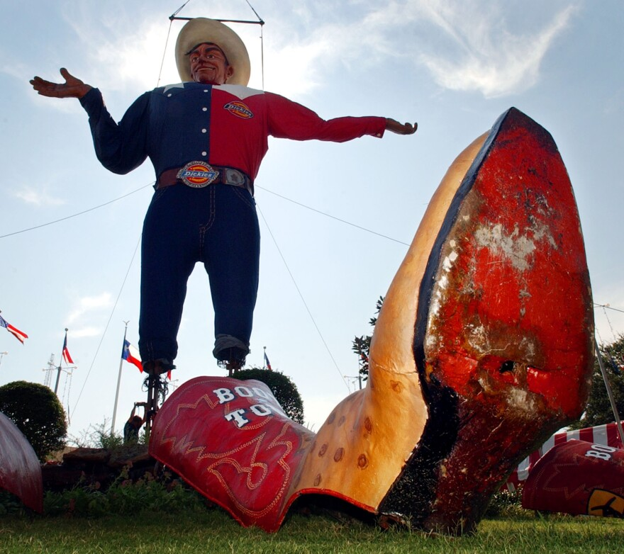 """Big Tex"" in better days."