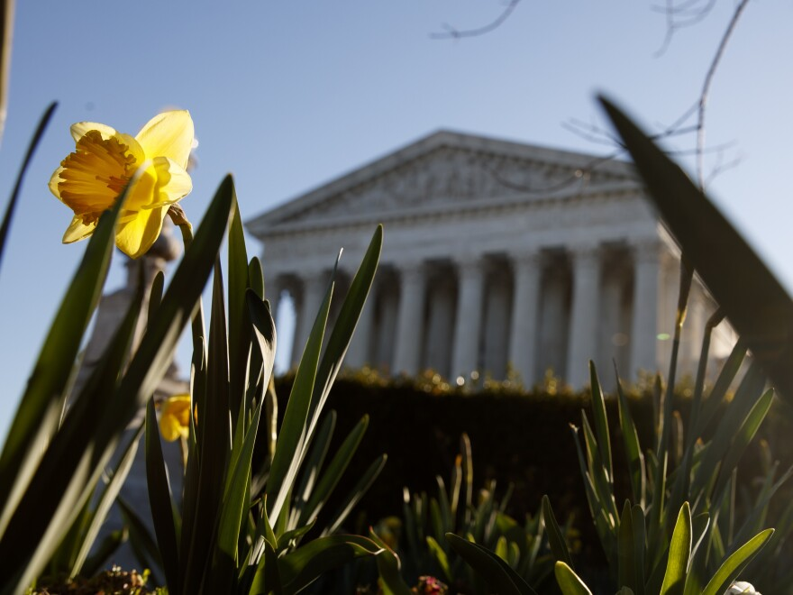 The U.S. Supreme Court on Thursday stayed the execution of a Buddhist inmate in Texas.