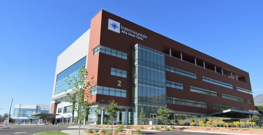 A photo of the Intermountain Alta View Clinic building.