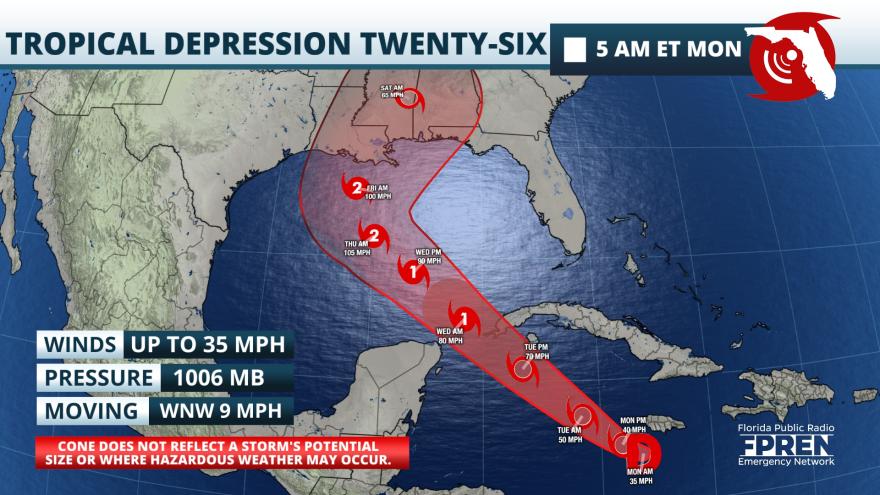 Tropical Depression 26