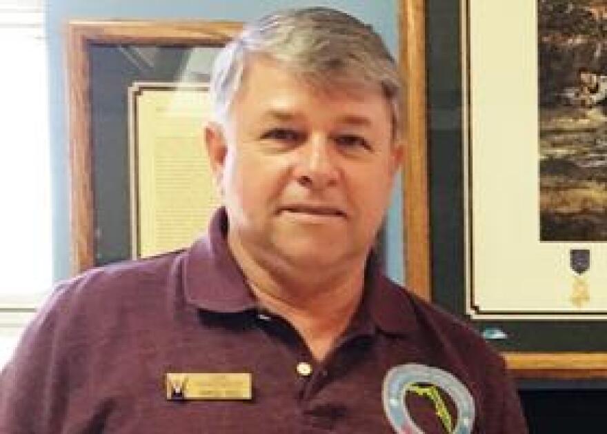 Air Force veteran Carl Hunsinger serves as chairman of the Manatee County Veterans Council.