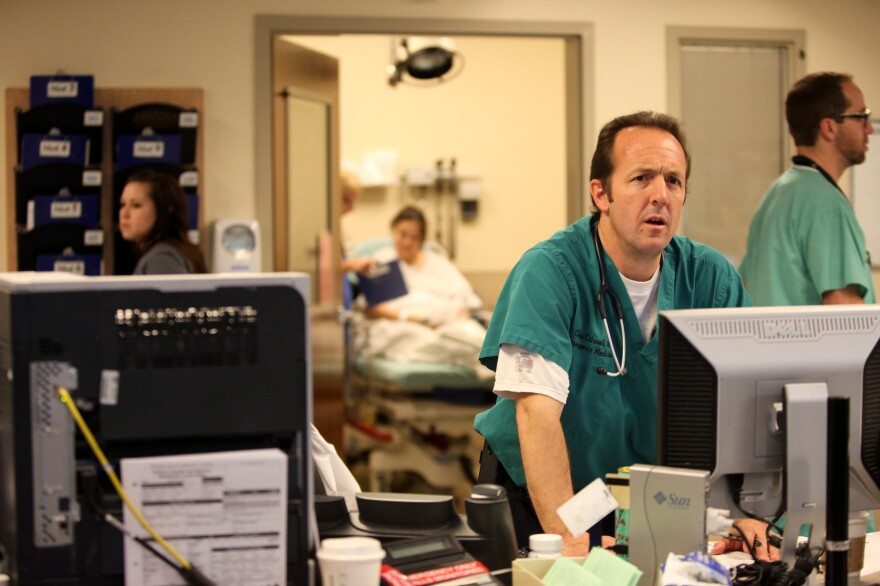 Chris Colwell, director of emergency medicine at Denver Health, has treated victims from two of the deadliest mass shootings in the U.S. He says he's deeply disturbed by how easy it is to get guns.