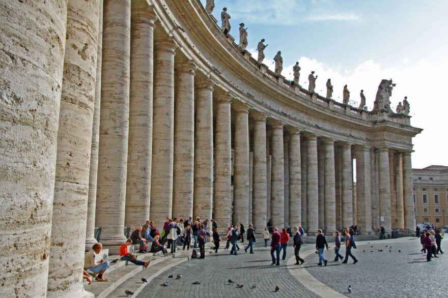 Saint Peter's Basilica in Vatican City.