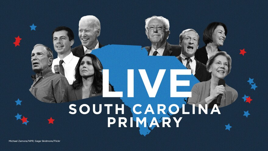 Follow NPR's live coverage of the South Carolina primary.