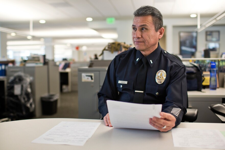 Lt. Lionel Garcia was the lead officer of the LAPD's mental evaluation unit for seven years until his retirement in April.