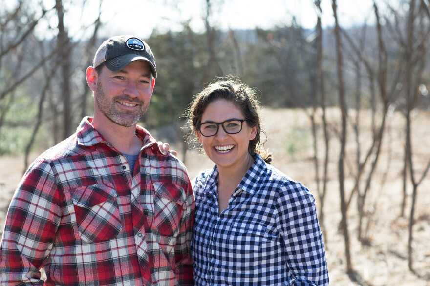 """Kate Weiler and Jeff Rose co-founded Drinkmaple. """"People have been drinking maple water from buckets on sap farms for hundreds of years,"""" Weiler says. """"We like to say that the un-trendiest beverage is now trending."""""""