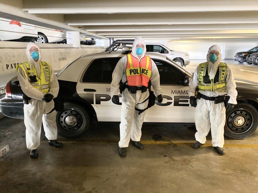 The Miami Beach Police Department's Quarantine Response Team.