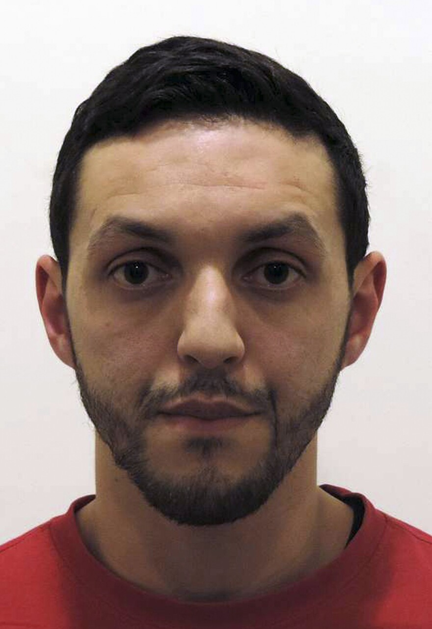 Mohamed Abrini, in a photo provided by Belgian Federal Police.