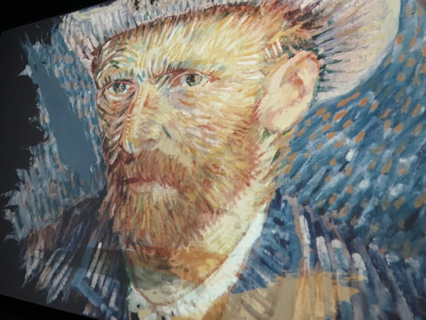 Vincent Van Gogh self portrait.