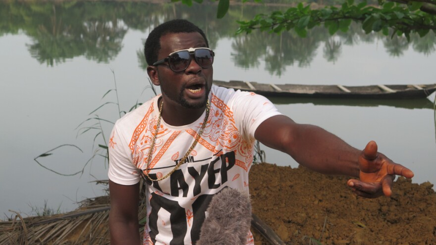 """Hip-hop artist MC Kay's song """"January Money,"""" about the compensation owed fishermen from a 2009 oil spill, spread throughout Ogoniland and resonated with his community."""