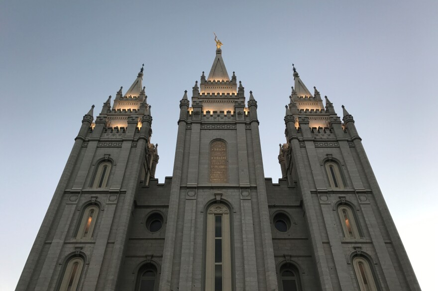 Photo of the Church of Jesus Christ of Latter-day Saints Salt Lake Temple