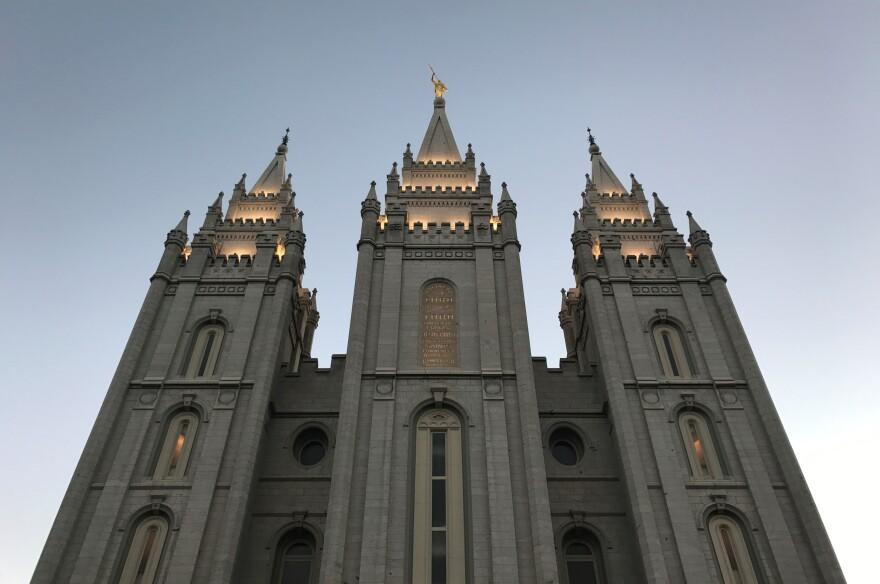 Photo of the Church of Jesus Christ of Latter-day Saints Salt Lake Temple