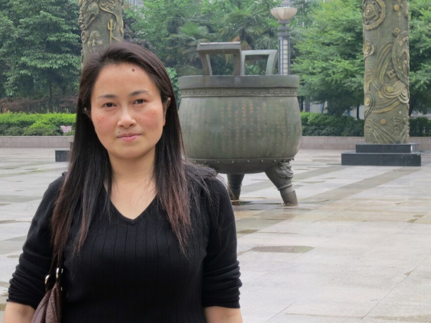 Li Ping spent 18 months in jail on a charge of hiding company accounts. Seven members of her family were jailed during the campaign against gangsters.