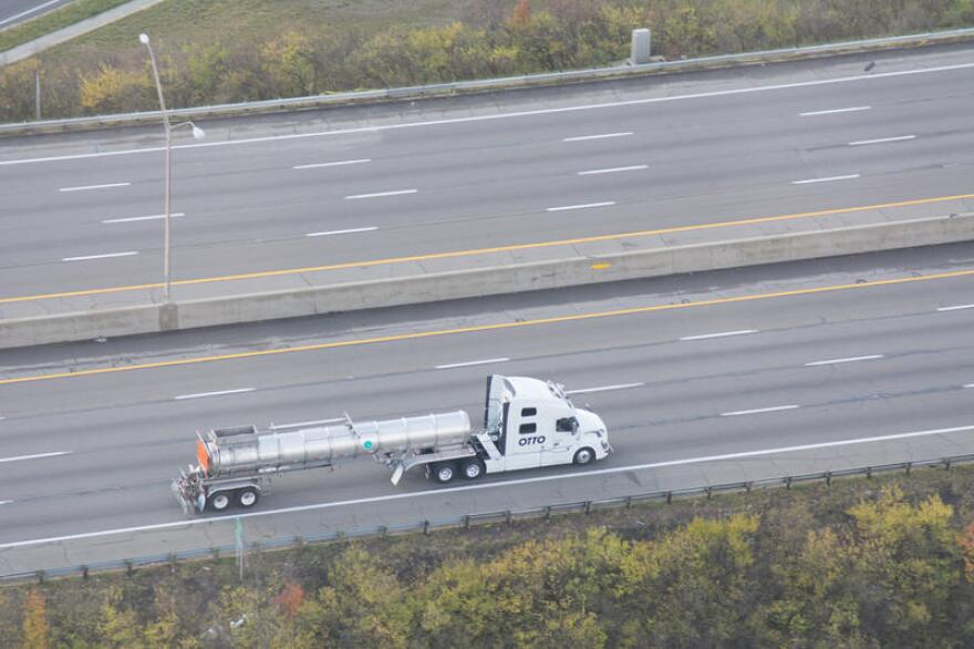 Even two years ago, self-driving leader Otto was testing trucks on U.S. 33, one of Ohio's main test corridors between Dublin and Marysville.