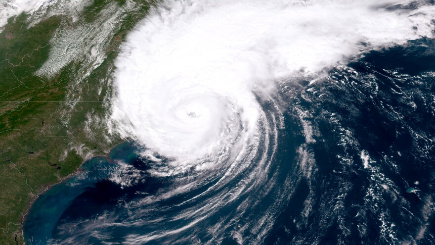 "There is an 85% chance of 2020 being an ""above-normal"" hurricane season, the National Oceanic and Atmospheric Administration said on Thursday. Here, a NOAA GOES-East satellite image shows last year's Hurricane Dorian, which made landfall on North Carolina's Outer Banks on Sept. 6. Hurricane Isaias made landfall in North Carolina earlier this week."