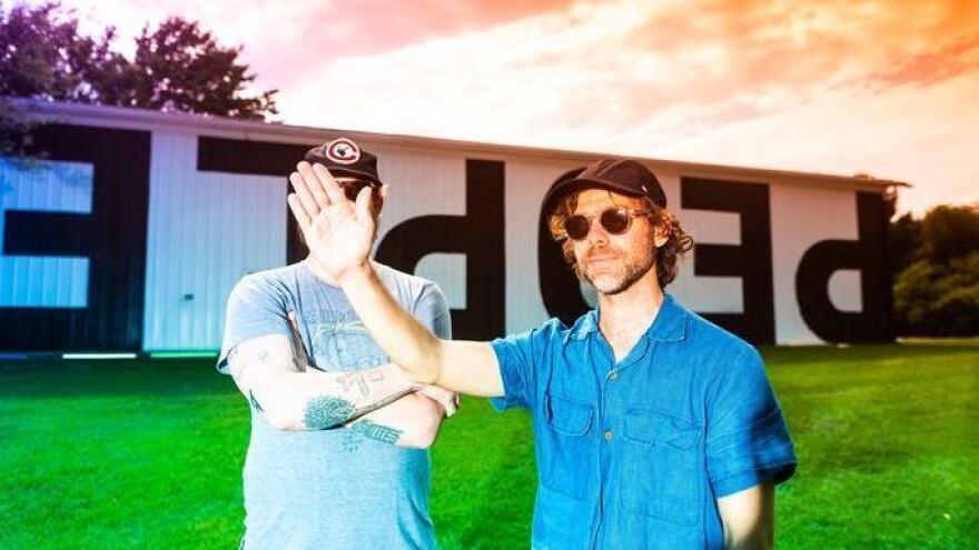 Justin Vernon and Aaron Dessner of Big Red Machine.