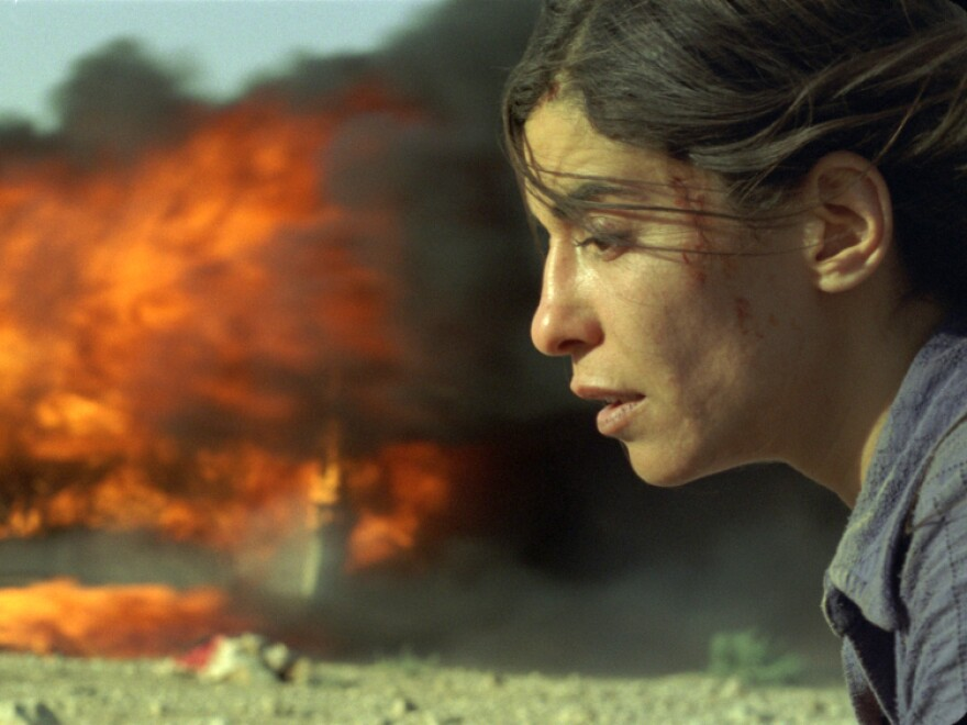 <strong>'Incendies':</strong> After the death of the widowed Nawal (Lubna Azabal), her adult children slowly discover the bitterness of her childhood in a country plagued by endless cycles of violence.