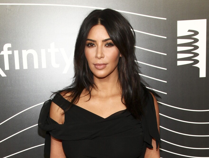 Kim Kardashian West attends the 20th Annual Webby Awards in New York last May.
