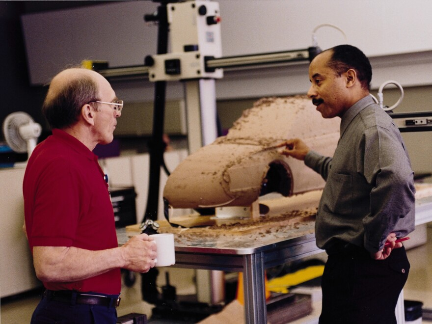 In 1996, Ed Welburn began a two-year assignment at Saturn. That led to an assignment in Germany, where he worked on future GM global design programs.
