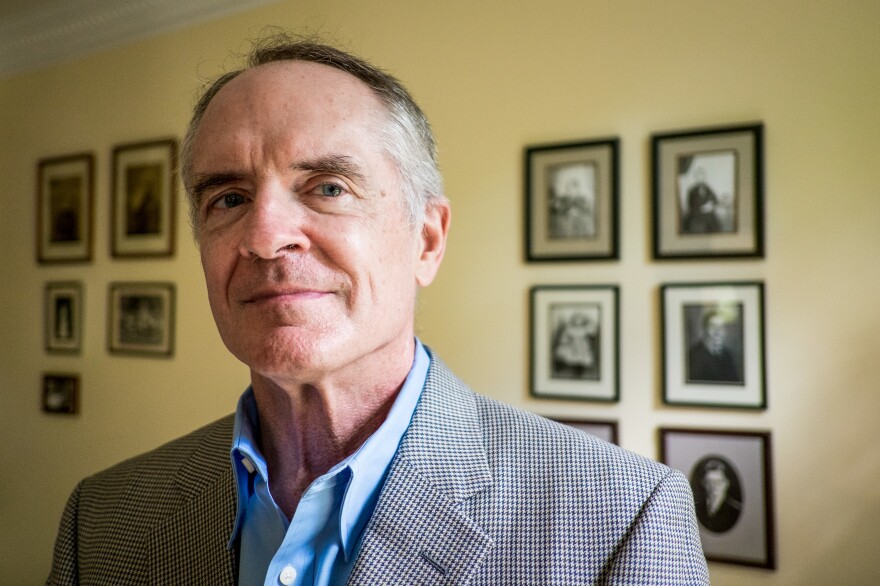 "Jared Taylor is the founder of American Renaissance, a website that he says is among the ""many websites and organizations that speak in the name of whites."""