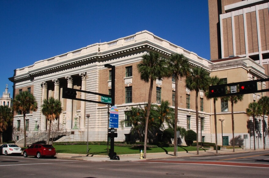 The Federal Courthouse in Tampa.