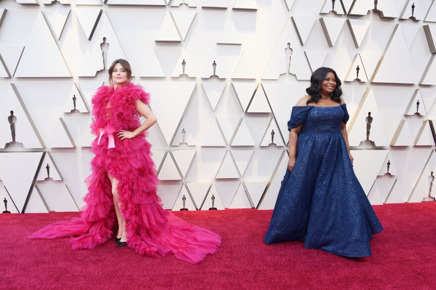Linda Cardellini, left, and Octavia Spencer, right