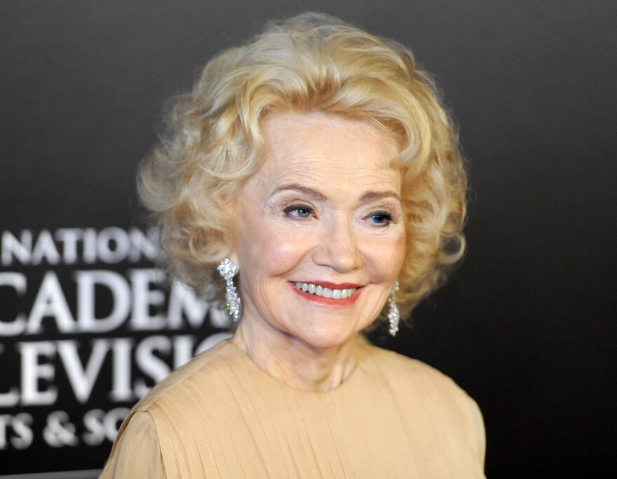 Agnes Nixon arrives at the 37th Annual Daytime Emmy Awards in Las Vegas in 2010.