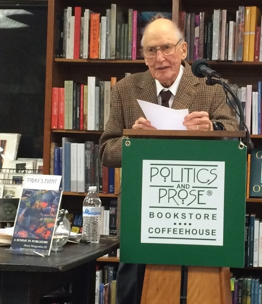 Henry Morgenthau III reads his poetry at DC's Politics & Prose bookstore.