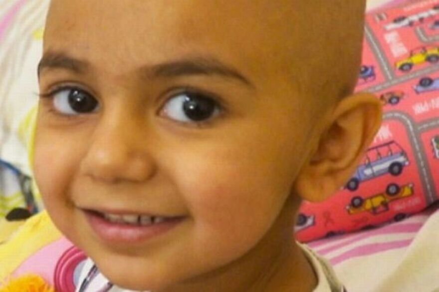 Two-year-old Zainab Mughal has a very rare blood antigen profile, which makes finding a donor extrememly difficult. She is fighting cancer and will need several transfusions during treatment.