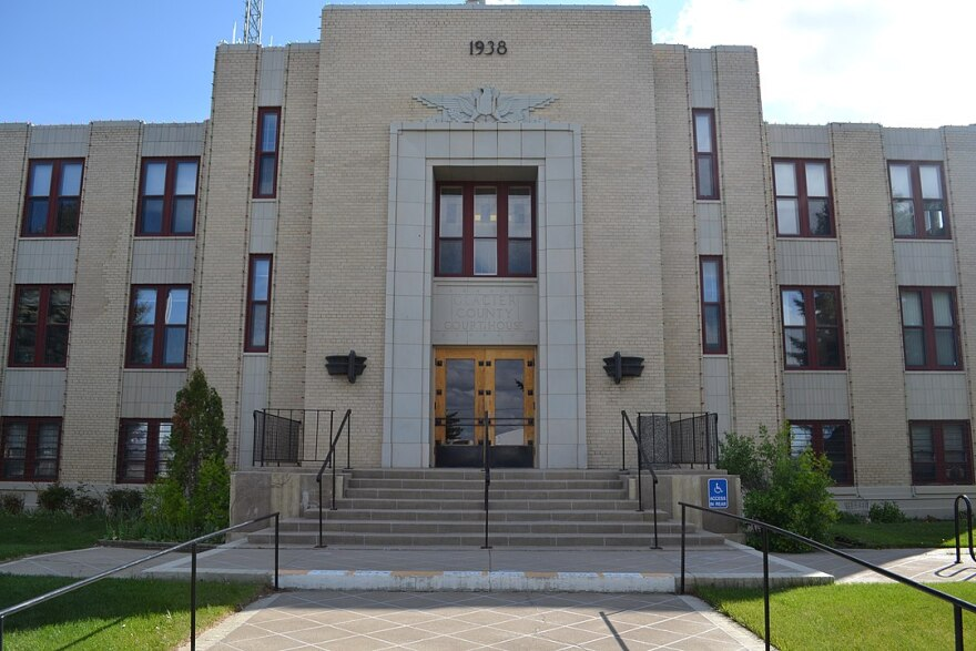 Glacier County Courthouse in Cut Bank, Montana.