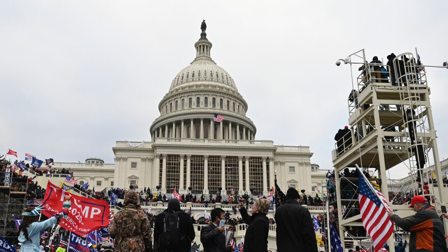 A mob of former President Donald Trump supporters breached the U.S Capitol security on Jan. 6.