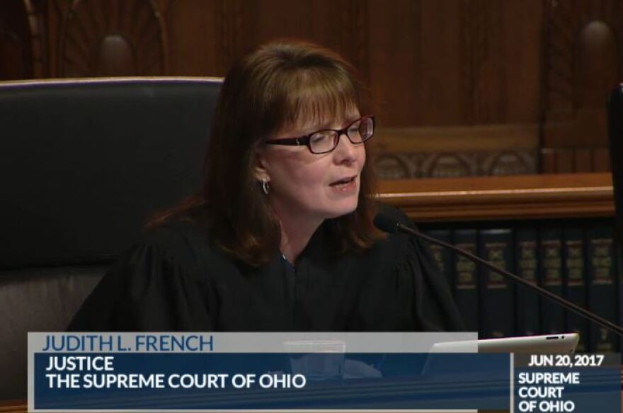 Ohio Supreme Court Justice Judith French