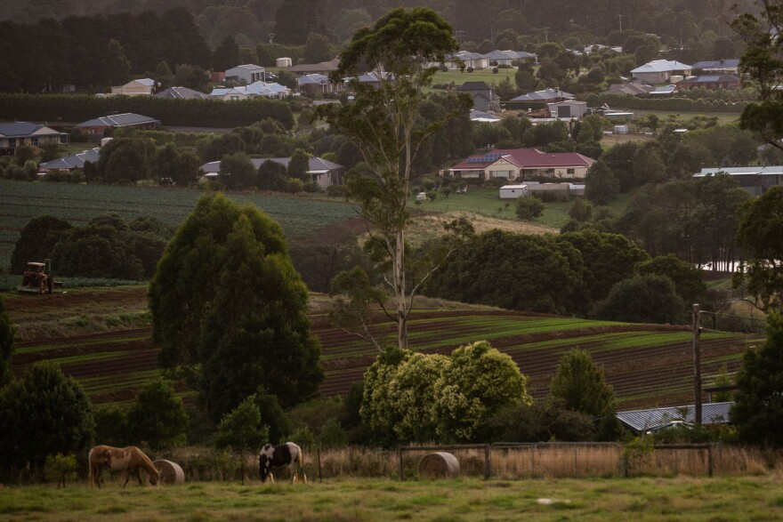 Kinglake, about an hour's drive northeast of Melbourne, remains a popular place to live in the years since Black Saturday. The town is situated next to a national park and is surrounded by rolling farmland.