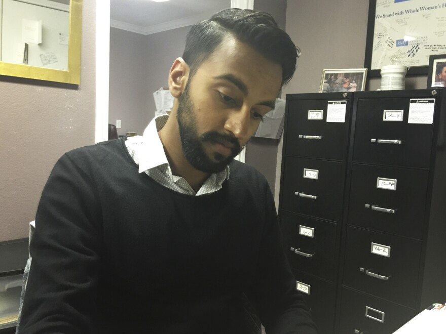 Dr. Bhavik Kumar has been performing abortions at the Fort Worth, Texas, clinic for about a year. He says abortion is a simple procedure, and in the cases he's had, there have been no complications requiring a woman to be hospitalized.